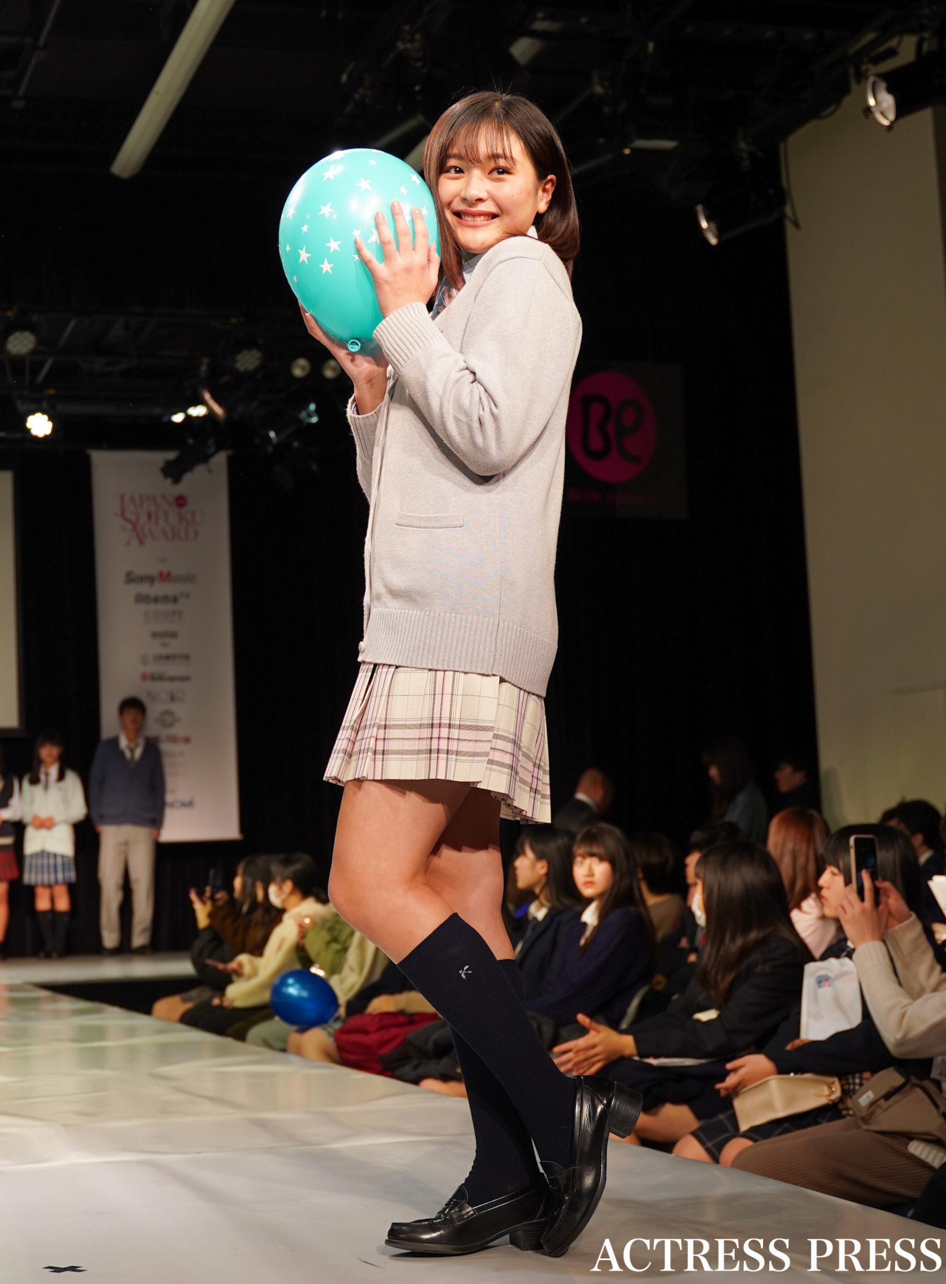 りの/「第7回日本制服アワード」にて(2020年2月2日):撮影:ACTRESS PRESS編集部