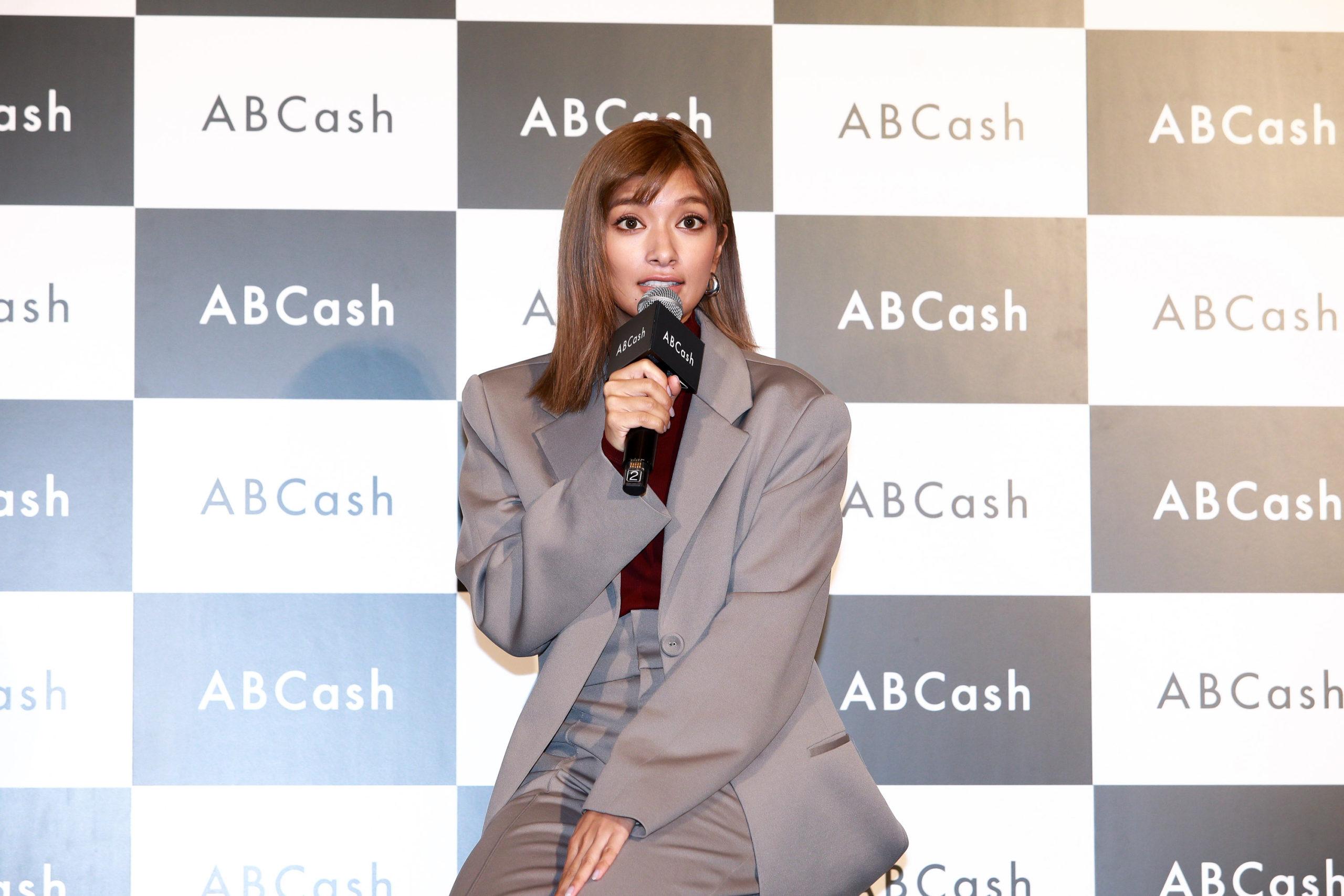ローラ/『ABCash』ブランドアンバサダー就任イベントにて(2020年2月5日(水)、セルリアンタワー東急ホテル)
