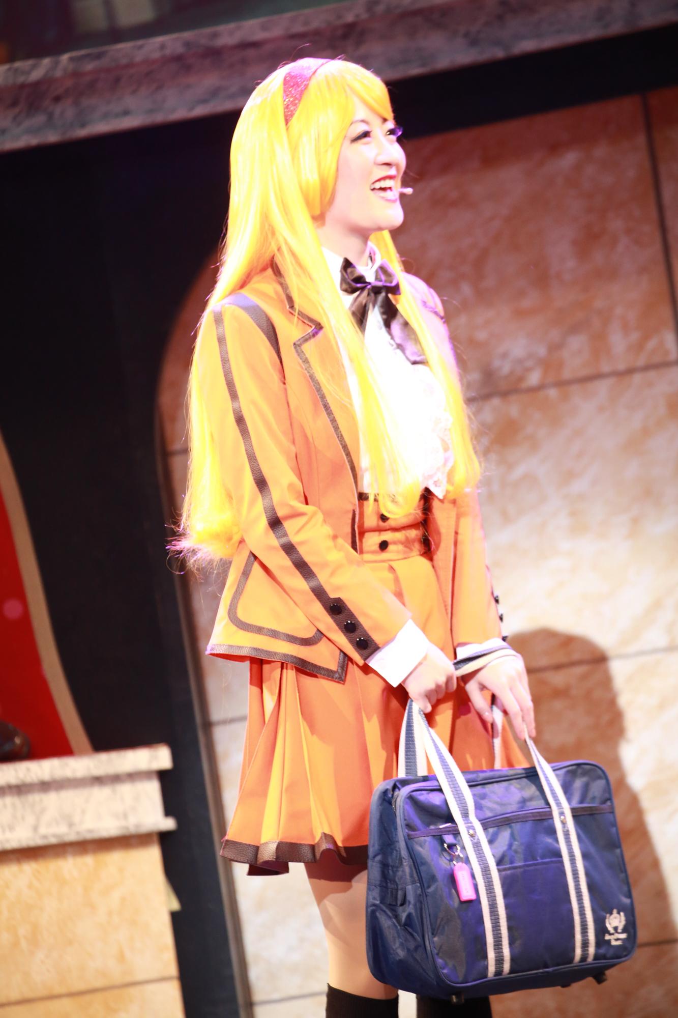 舞台「Cutie Honey Emotional(キューティーハニー・エモーショナル)」2020年2月6日、池袋のサンシャイン劇場にて。【(C)永井豪/ダイナミック企画・舞台「Cutie Honey Emotional」製作委員会