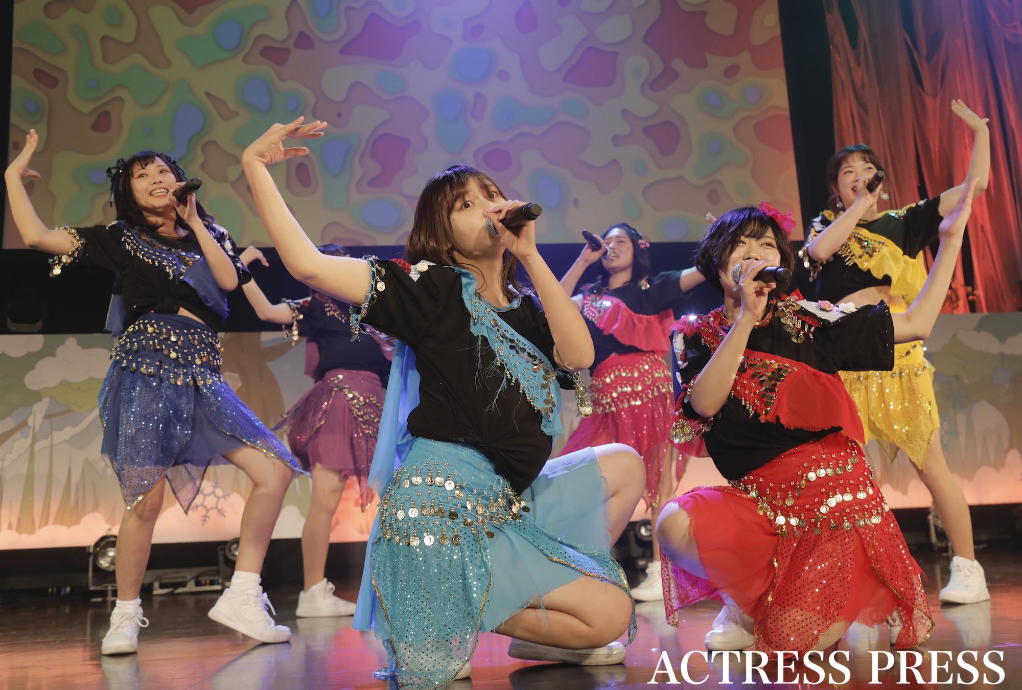 東京大学「東大 Love me Today」)/2020年2月13日、全国大学対抗アイドルコピーダンスコンテスト「UNIDOL2019-20 Winter supported by Sammy」/撮影:ACTRESS PRESS編集部