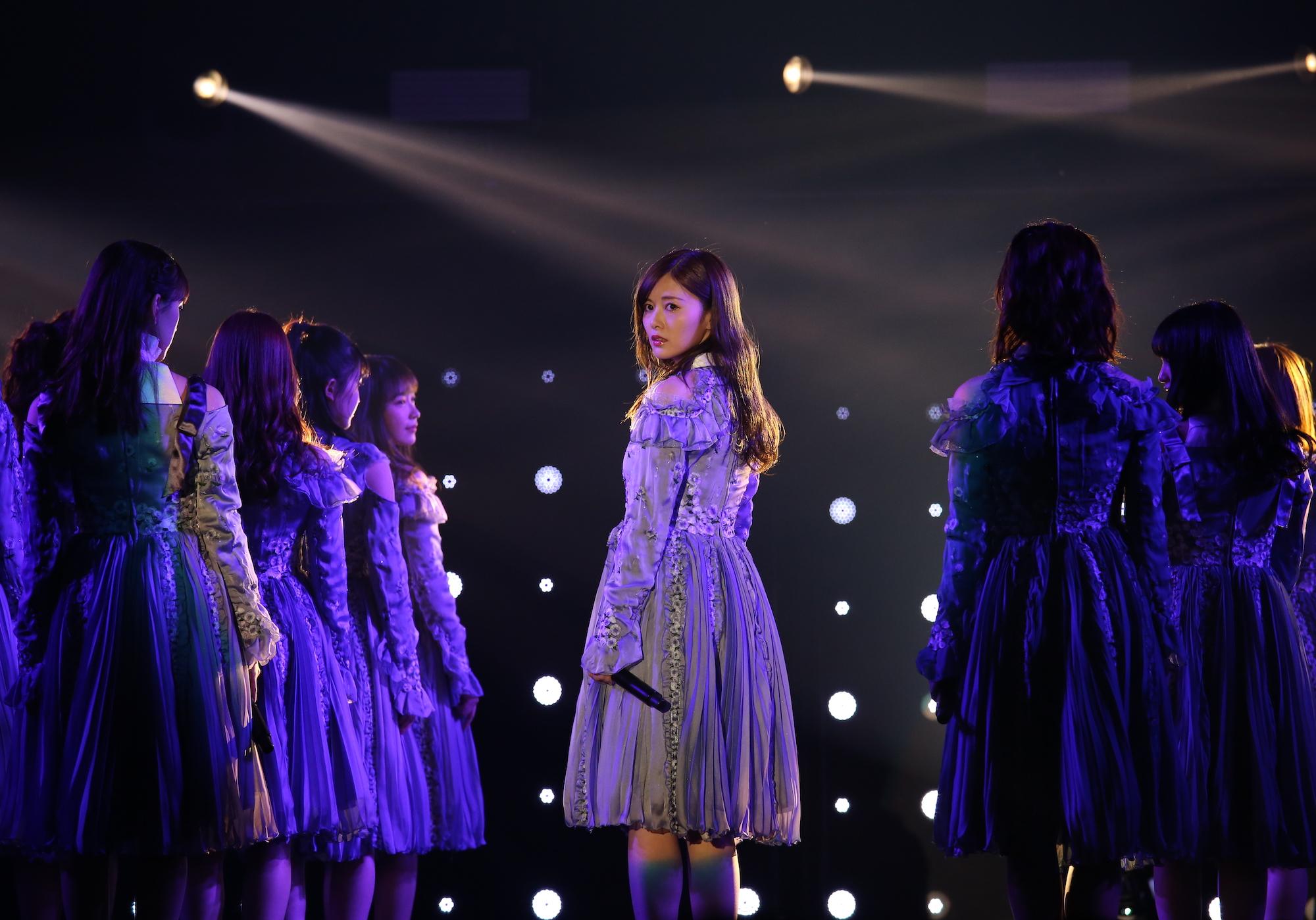 白石麻衣(乃木坂46)/2020年2月29日、国立代々木競技場 第一体育館にて (C)マイナビ TOKYO GIRLS COLLECTION2020 S/S