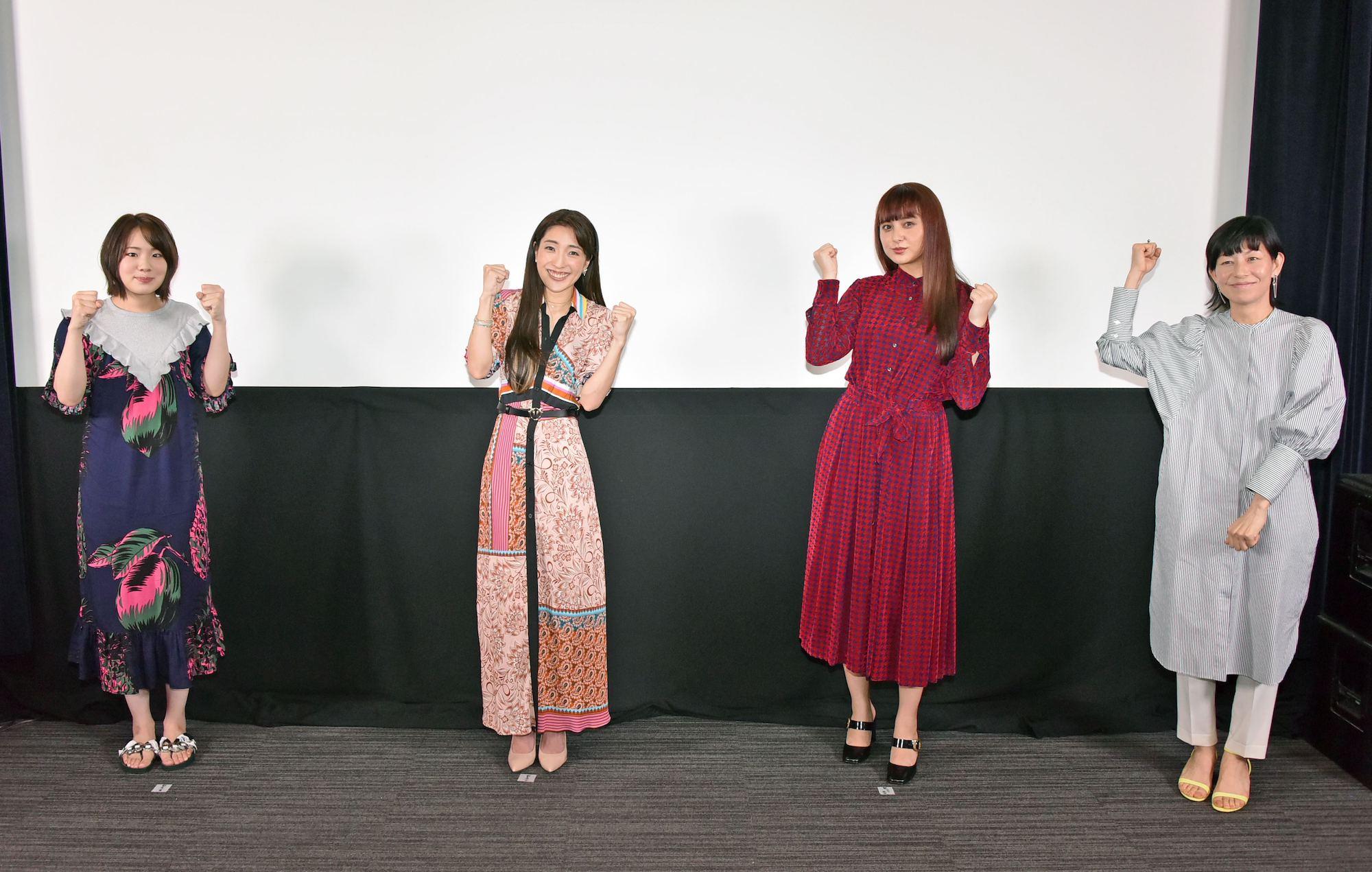 映画「いけいけ!バカオンナ~我が道を行け~」完成披露記者会見/2020年6月29日(月)映画美学校試写室にて