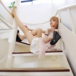 はーたら-階段