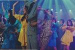 田中美奈子、Y!mobile 新CMで桐谷美玲とミニスカ対決!「1980SHOCK!」シリーズ 「スカート1/3篇」 7月1日オンエア!