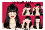 小松菜奈、Zoff 新キャラクターに!新クリエイティブは、人気クリエイター吉田ユニ & 小松菜奈 初のコラボ作品「SO LIGHT!」