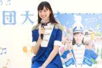 中条あやみ、マーチング衣装で「夏旅」を語る!「GO!GO!夏旅・行進曲」キャンペーン PR イベント開催!