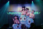 マジカル・パンチライン、初お披露目の新衣装で移籍第一弾シングル「Melty Kiss」初披露!そして、新生マジパンとして初のワンマンライブ開催発表!