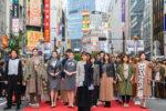 松岡茉優、渋谷の路上ファッションショーイベントのランウェイに登場!【「渋谷ファッションウイーク」のフィナーレ「SHIBUYA RUNWAY」レポート】