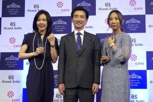 蜷川実花と木村佳乃・Women of Excellence Awards
