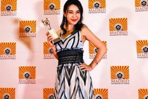 鈴木紗理奈、マドリード映画祭で最優秀外国映画主演女優賞