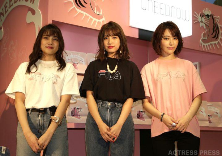 AKB48 入山杏奈・加藤玲奈・宮脇咲良(UNEEDNOW ポップアップストア・オープニングイベント)