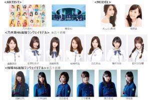 乃木坂46 & 欅坂46、GirlsAward