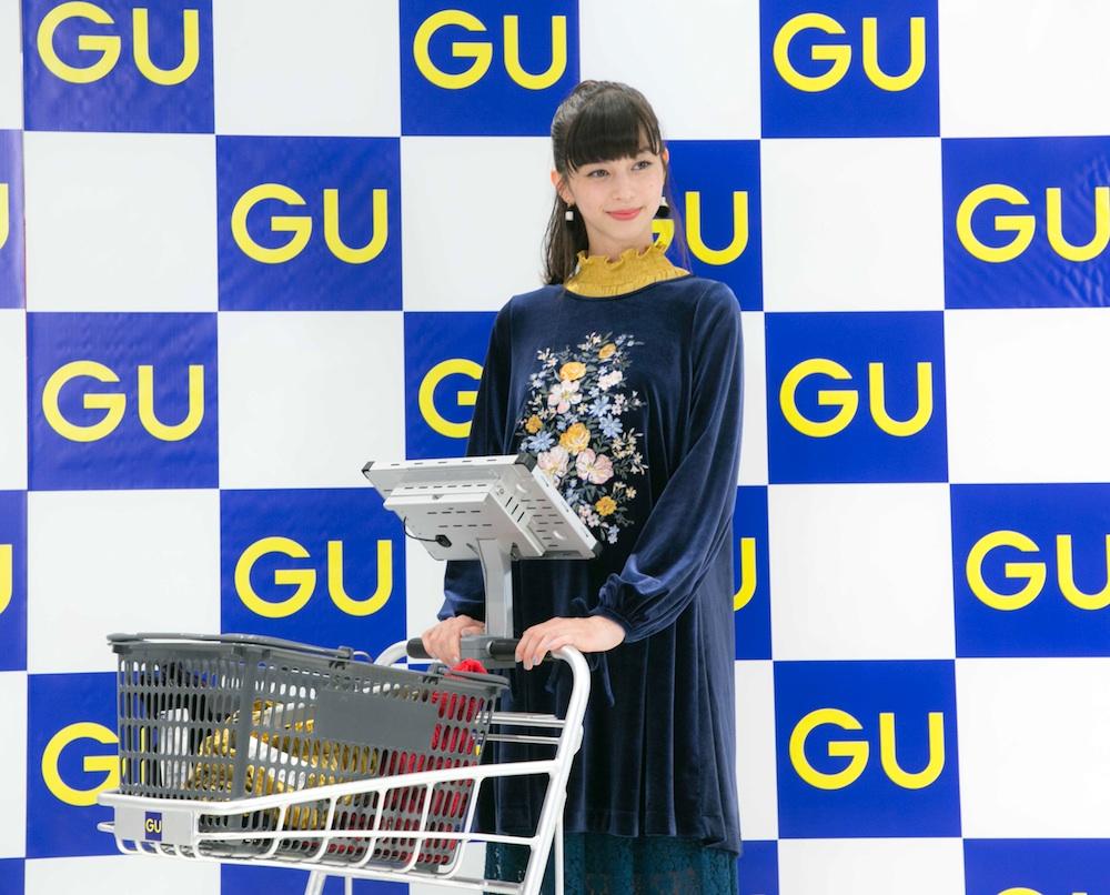 中条あやみ、女子力向上のため腹筋強化中!ジーユー横浜港北ノースポート・モール店オープニングイベントにて明かす