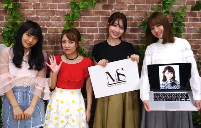 AKB48・加藤玲奈と向井地美音・高橋みなみ&小嶋陽菜 事務所