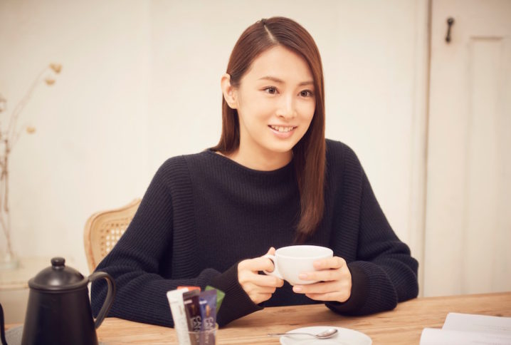 北川景子、プライベートカフェタイム