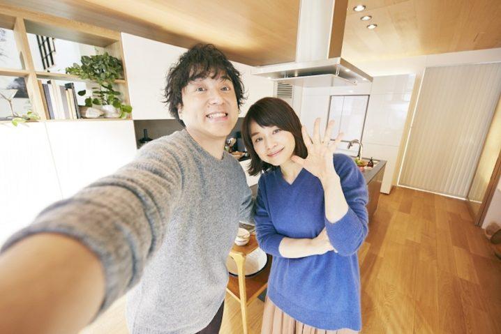 """石田ゆり子、ムロツヨシと""""夫婦""""でSNS開設"""