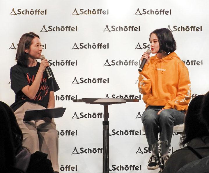 人気モデル・emma 、グランピングをテーマにしたドイツ発のアウトドアブランド 「ショッフェル」トークイベント