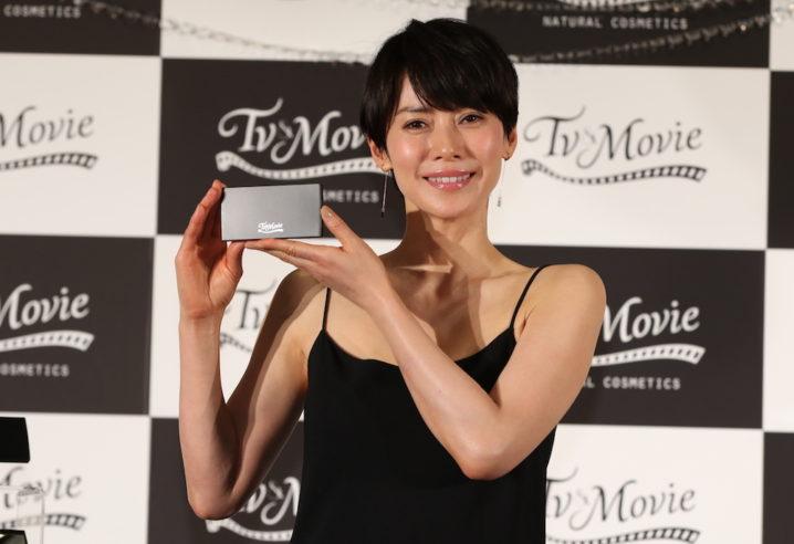中谷美紀 TV&MOVIE 新商品&新CM発表会