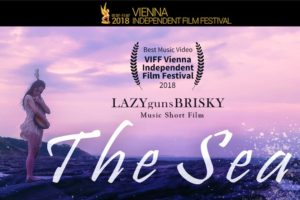 LAZYgunsBRISKY のショートフィルム『The Sea』が、Vienna Independent Film Festivalで Best Music Videoを受賞!