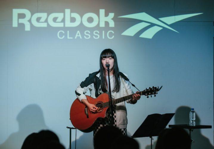 あいみょん × Reebok CLASSICコラボ楽曲「GOOD NIGHT BABY」発表記念サプライズライブ