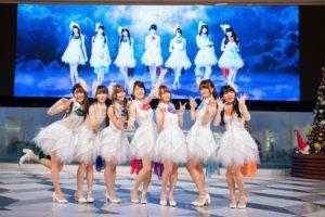 声優ヴォーカルユニット・Kleissis(クレイ・シス)写真左から、 金子有希、 高橋麻里、 山田麻莉奈、 田中有紀、 富田美憂、 山根綺、 元吉有希子