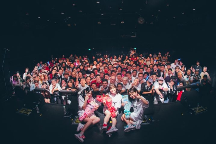 未完成リップスパークル/2019年1月20日(日)渋谷WWWXにて開催の4thワンマンライブ~Sorry 4 the wait!~」にて。
