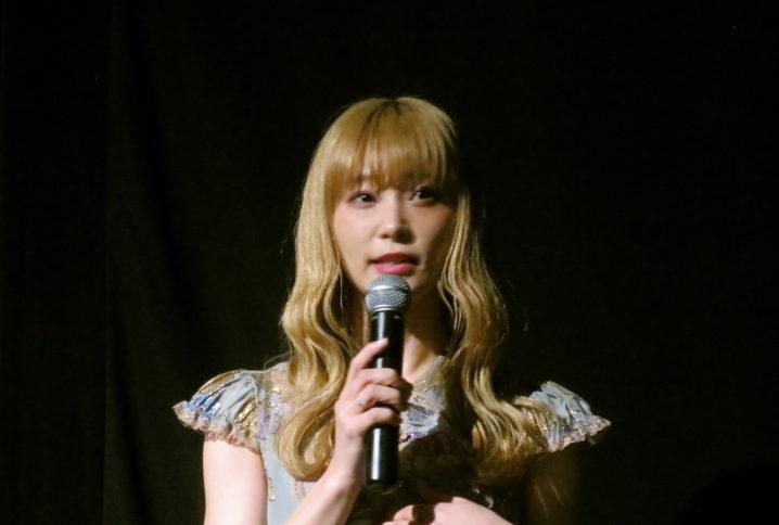 RINA(SCANDAL)/映画『シスターフッド』トークイベントにて(2019年4月14日、横浜シネマリン)