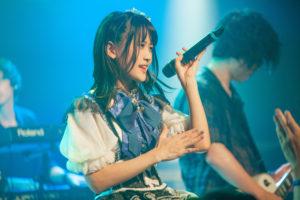 夜明あおい「1stワンマン&生誕LIVE BLAND NEW BLUE 3」(2019年6月22日、新宿MARZにて)PHOTO:乙羽