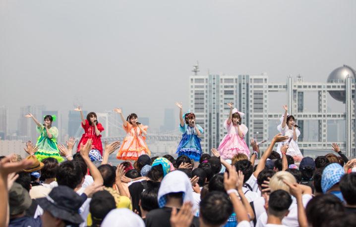 お祭り系アイドルFES☆TIVE、「TOKYO IDOL FESTIVAL2019」