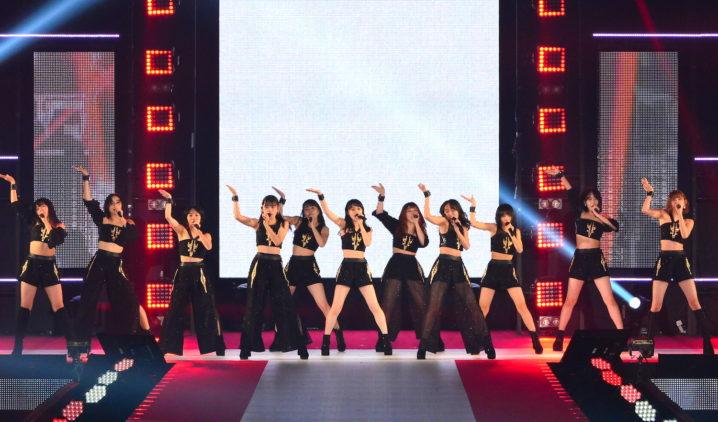 アンジュルム//2019年9月28日、GirlsAward2019AWステージにて