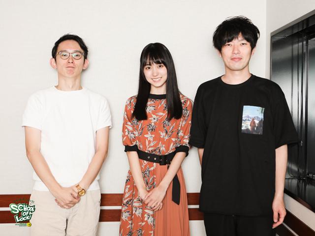 乃木坂46・新曲フロントメンバー4期生・賀喜遥香、『SCHOOL OF LOCK!』初来校