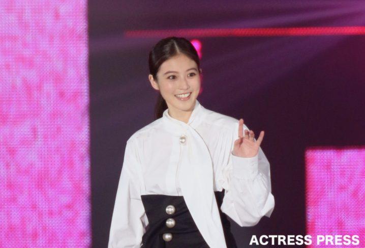 今田美桜/2019年9月28日、GirlsAward2019AWにて。撮影:ACTRESS PRESS編集部