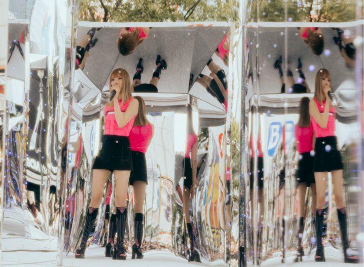 安斉かれん/「第14回 渋谷音楽祭2019 ~Shibuya Music Scramble~」にて(2019年10月20日)