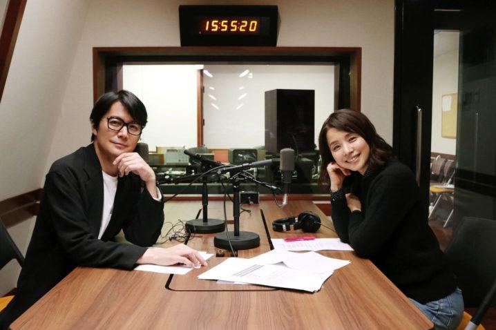 石田ゆり子、福山雅治とラジオ対談