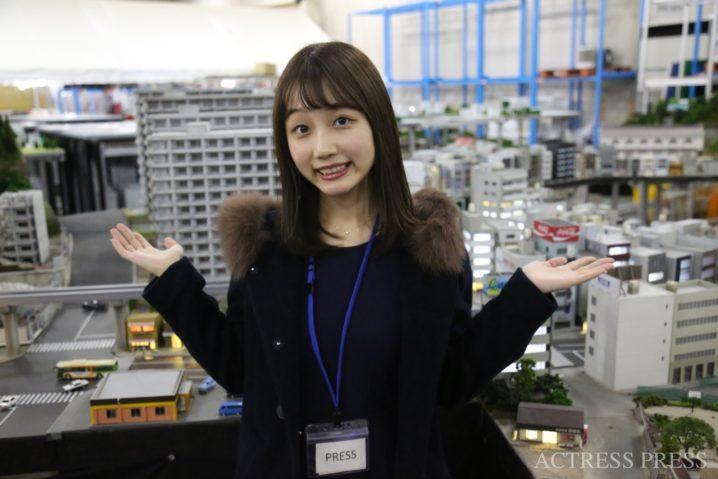 稲永怜奈/「SMALL WORLDS TOKYO」プレス向け発表会 イベントにて(2019年11月28日):撮影:ACTRESS PRESS編集部