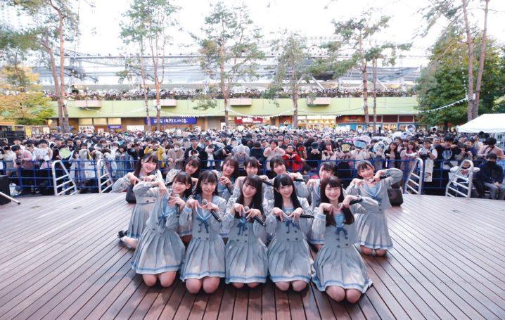 ≠ME(ノットイコールミー)/2019年11月17日(日)、東京ドームシティ・ラクーアガーデンステージにてミニライブにて