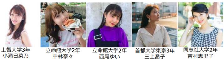 日本一のミスキャンパスを決める「MISS OF MISS CAMPUS QUEEN CONTEST 2020」出場者・第三弾