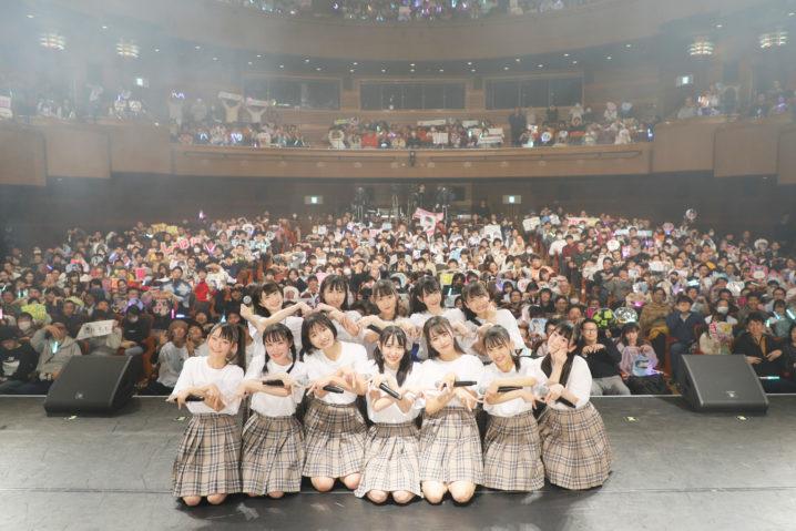 指原莉乃プロデュースのアイドルグループ≠ME(ノットイコールミー)、天王洲 銀河劇場にて開催の初の単独公演(2019年12月30日)