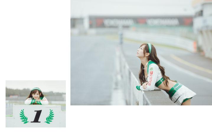 トップレースクイーン・林 紗久羅の写真集