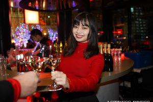 山手咲穂/「CE LA VI(セラヴィ)東京」プレオープニングのパーティーにて(2019年12月3日)撮影:ACTRESS PRESS編集部