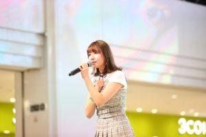 和氣あず未/2020年1月29日、東京・池袋サンシャインシティ噴水広場にて、1stシングル「ふわっと/シトラス」発売記念イベントにて