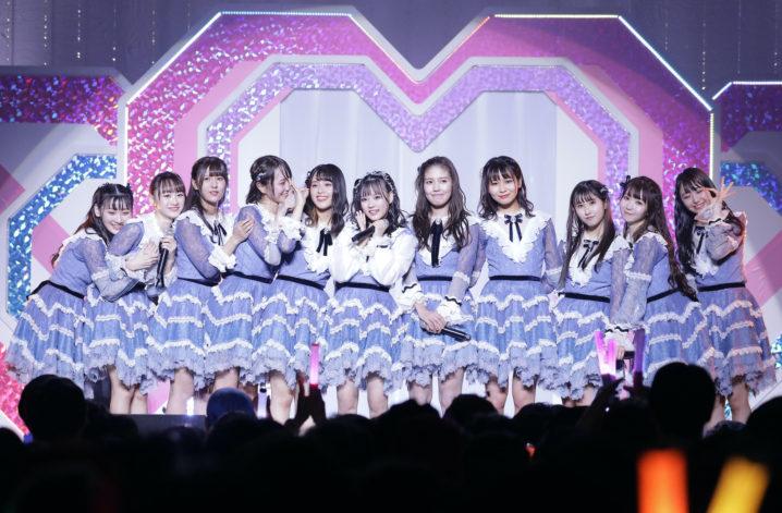 指原莉乃がプロデュースする=LOVE、初の全国ツアーファイナル(2020年1月17日、Zepp Tokyoにて)