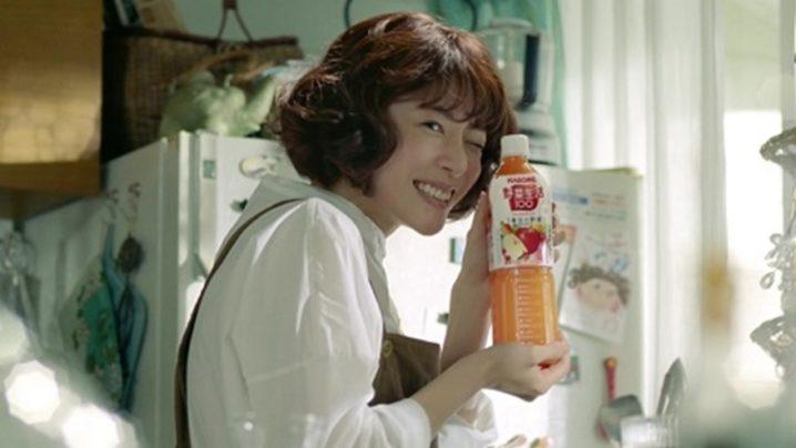 上野樹里/カゴメ「野菜生活100」シリーズ TVCM