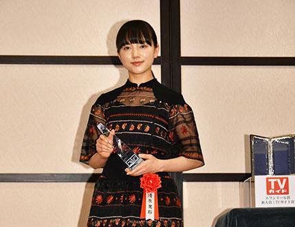 清原果耶/2020年2月6日、「2020年 エランドール賞」の授賞式にて(C)東京ニュース通信社