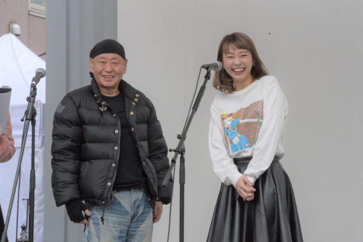 元ベイビーレイズ JAPAN・大矢梨華子/泉谷しげる主催の下北沢フェスにて(2020年2月15日)