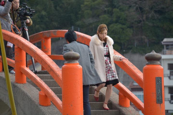 武田梨奈/映画『いざなぎ暮れた。』オフショット写真