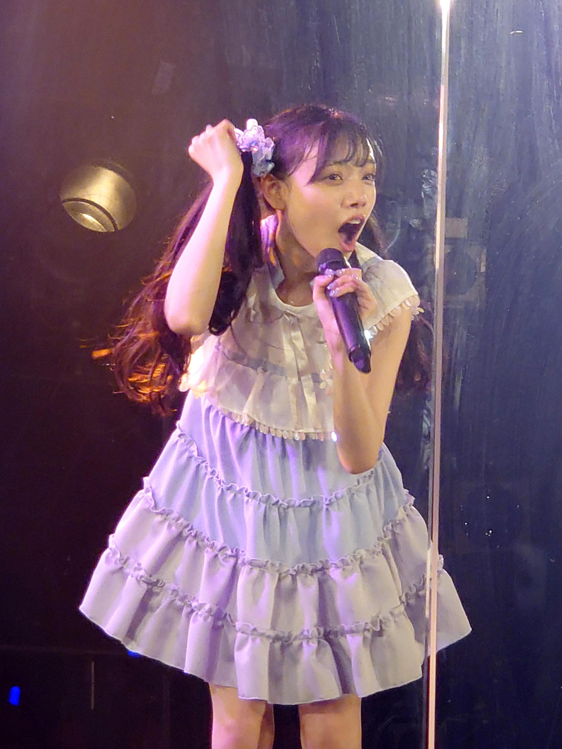 吉橋亜理砂(Ange☆Reve)24歳の生誕祭ライブ。2020年7月24日、渋谷クラブクアトロにて。