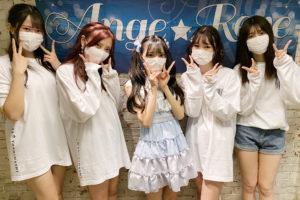Ange☆Reve左から水野結愛・佐々木璃花・吉橋亜理砂・原姫子・権田夏海