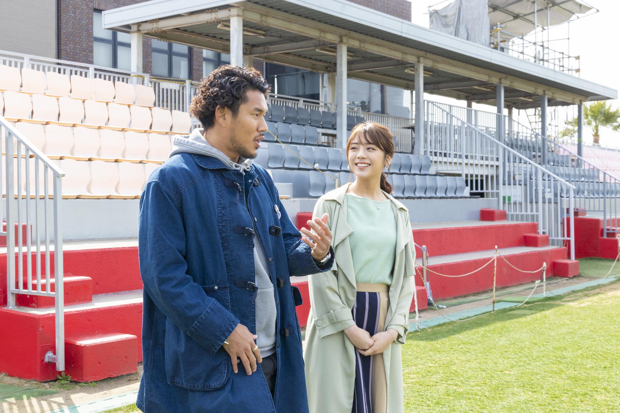 貴島明日香、地元・神戸の魅力を伝えるプロモーション動画「KOBE TRIP」に 山中亮平選手と出演!