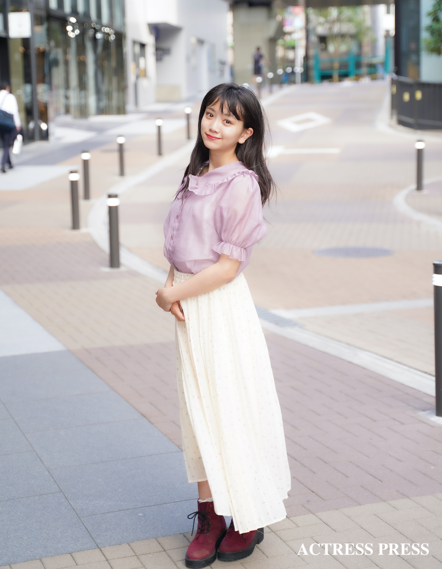 村田万葉/2020年7月、東京・渋谷にて/撮影:ACTRESS PRESS編集部